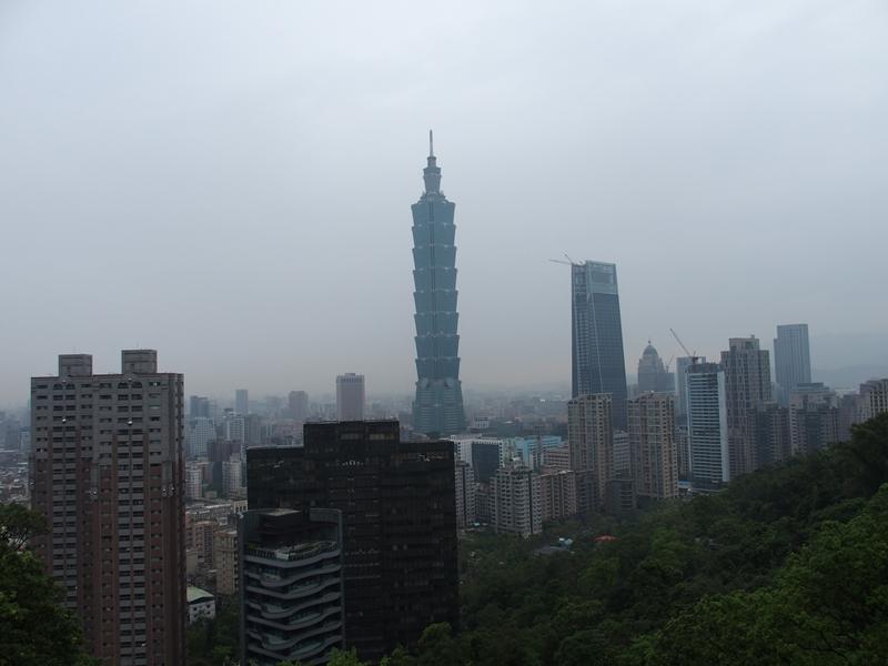 展望台からの台北101