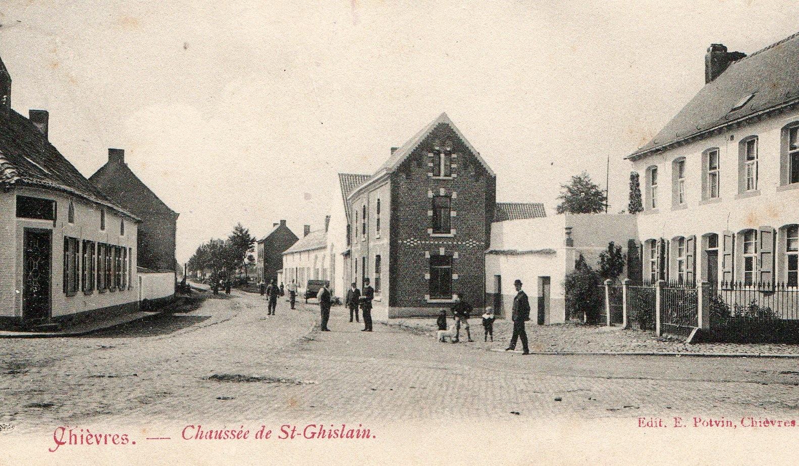 Chaussée de Saint-Ghislain - Collection privée