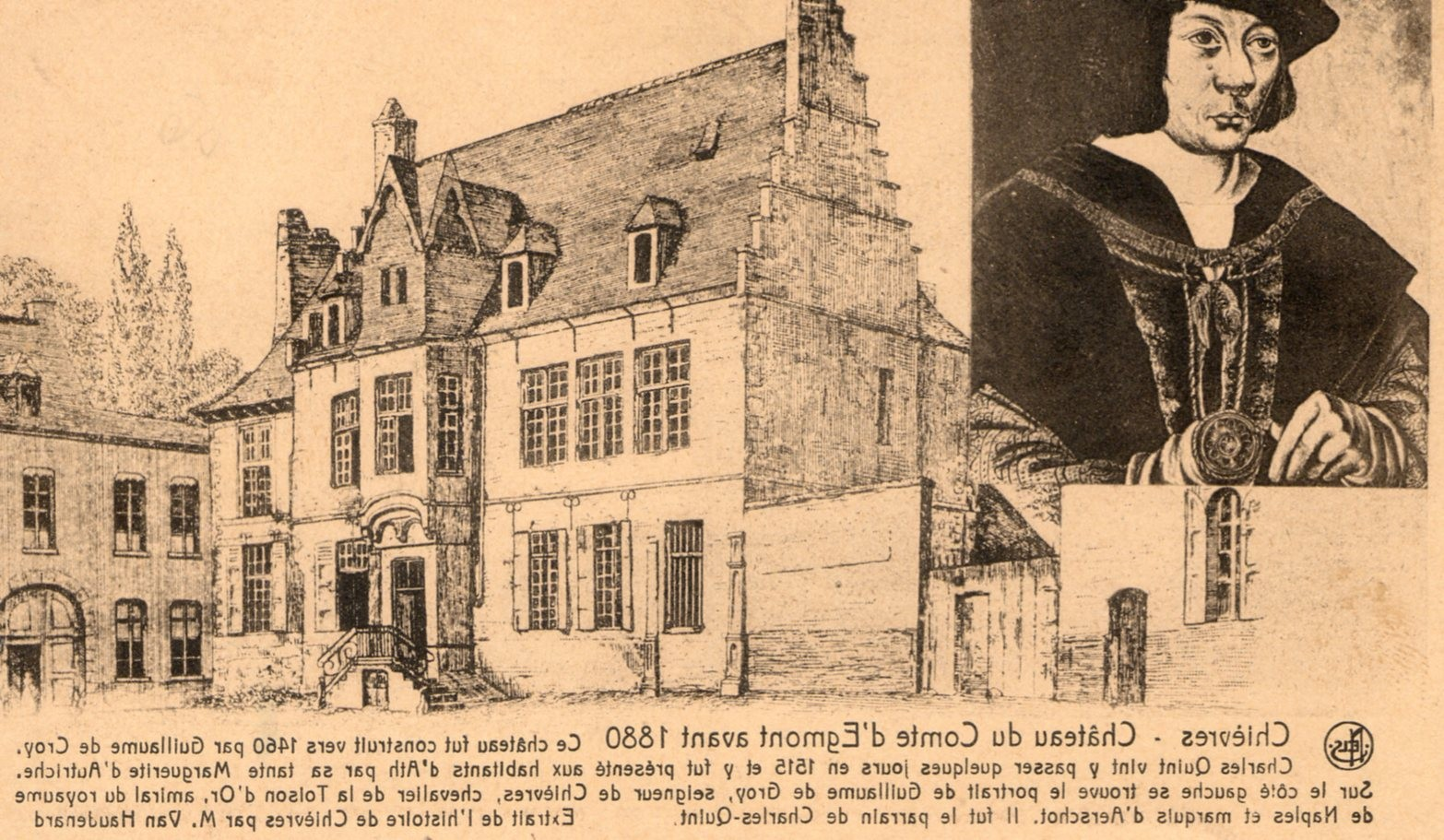 Château du Comte d'Egmont - Collection privée