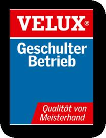 Grafik: VELUX - Geschulter Fachbetrieb, Limbacher Dach
