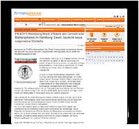 Grafik: Preview Pressemitteilung auf FIRMENPRESSE für Limbacher Dach GmbH Dackdeckermeisterbetrieb aud Frankfurt a. M.