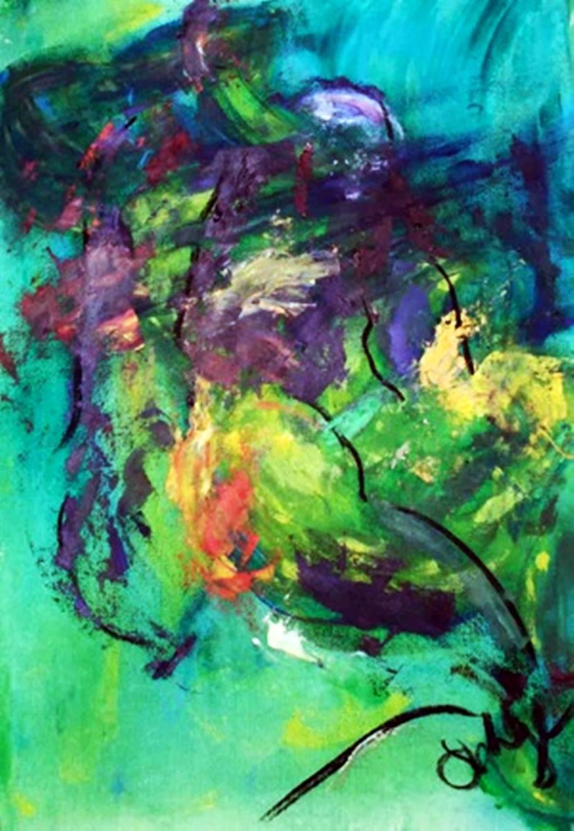 Green Muddle |  2018 |  100 x 100