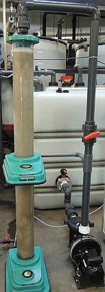 Ozonmischer für Kfz Abwasser, Portalwaschanlagen