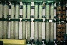 Rieselfiltersäulen zur biologischen Wasseraufbereitung