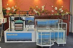 Fischwasseraufbereitung, kleine Hälterungsanlage