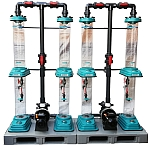 Vermischen von Ozongas in Flüssigkeiten, Ozonreaktor,Ozonmischer