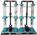 Vermischen von Ozongas in Flüssigkeiten, Ozonreaktor,Ozonmischer, Gasmischer