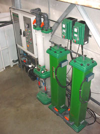 Kombination Elektrolyse und Ozonaufbereitung