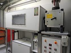 Gaswäscher mit Ozon, Turbine Sauerstoff Generatoren und Vorlagetank
