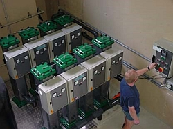 Elektrolysestationen für Sickerwasser