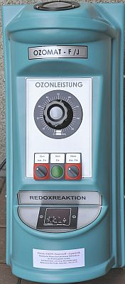 Kleinozonerzeuger mit Redoxregelung für Aquarien