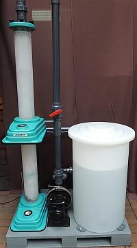 chargenweise Ozonbehandlung von Abwasser