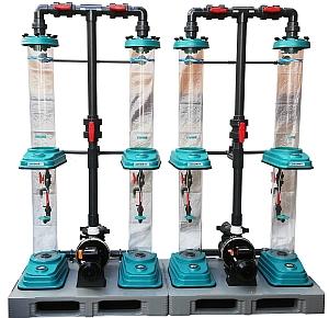 statik Mischer für Ozon und Luft, Ozon Turbo Mischer, Ozonreaktor