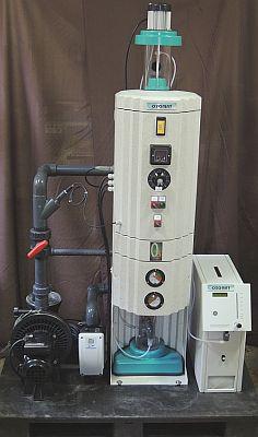 Ozonanlage mit integriertem Ozonmischer - Ozonreaktor