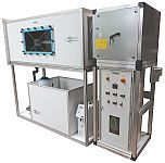 Luftaufbereitung, Abluftreinigung, Luftwäscher, Gaswäscher, Hallenluft, Luftreinhaltung