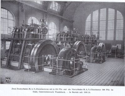 A.J.Rothschild Söhne, Stadtoldendorf, DM-Dieselmotoren von MAN