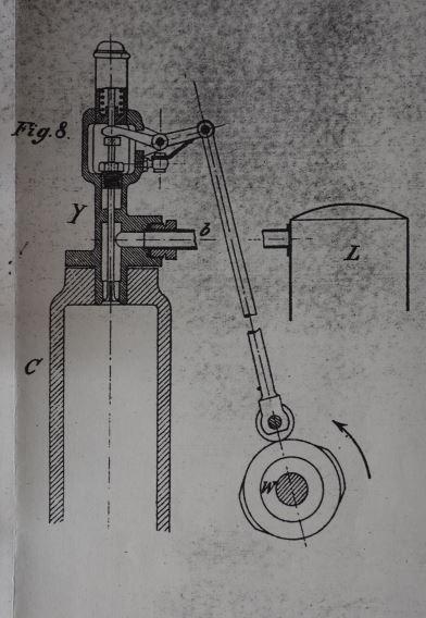 Dieselmdotor; Kraftstoff-Drucklufteinblasung; Patentschrift DRP 82168