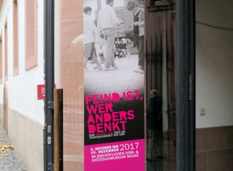 Feind ist, wer anders denkt - Wanderausstellung in Mainz © dokubild.de / Klaus Leitzbach
