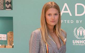 Supermodel Toni Gern © FRANKFURTMEDIEN.net / F. Herr