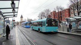 Neue Tram 18 in Frankfurt © dokubild.de