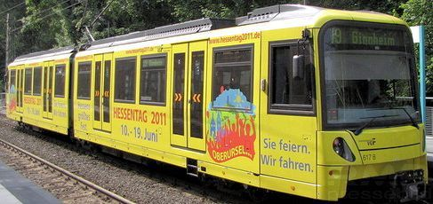 Hessentagsstadt Oberursel U-Bahn © FRANKFURT MEDIEN.net