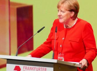 Bundeskanzerlin Angela Merkel © mainhattanphoto/Klaus Leitzbach