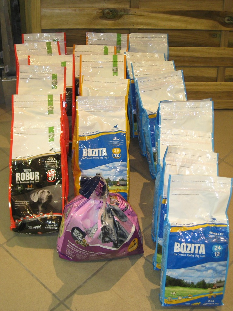 Spenden die angekommen sind im Mai 2013