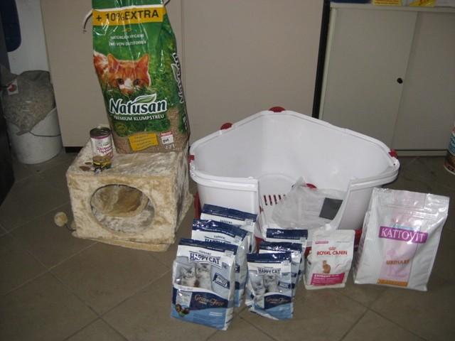 30. Mai 2012 vielen Dank für die tolle Futterspende für unsere Katzenprojekte