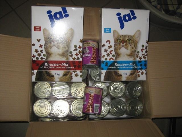 16.6.2012 vielen Dank an Monika D. Futter für die Wildkatzen Raunheim