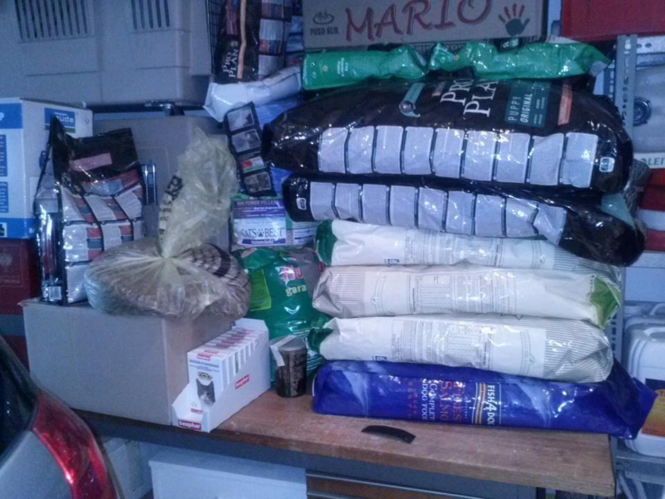 Spenden die angekommen sind im Sep. 2013