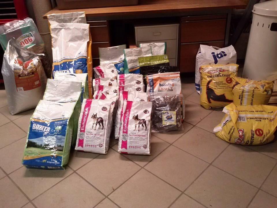Spenden die angekommen sind im Nov. 2013