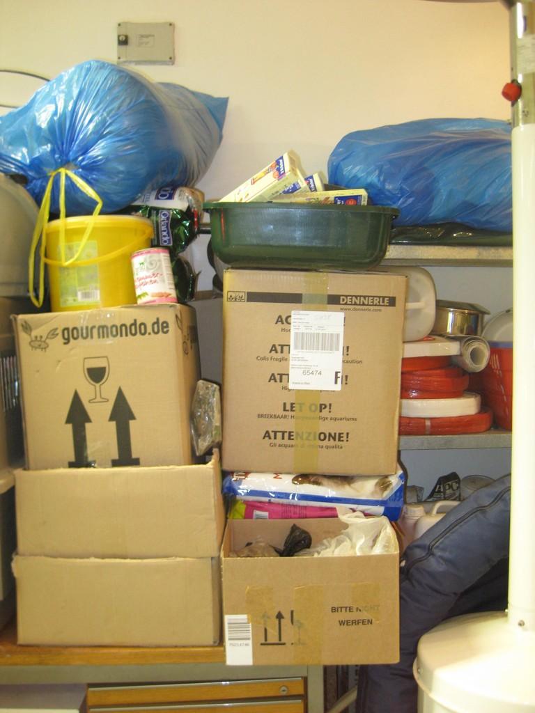 Spenden die angekommen sind im Feb. 2013