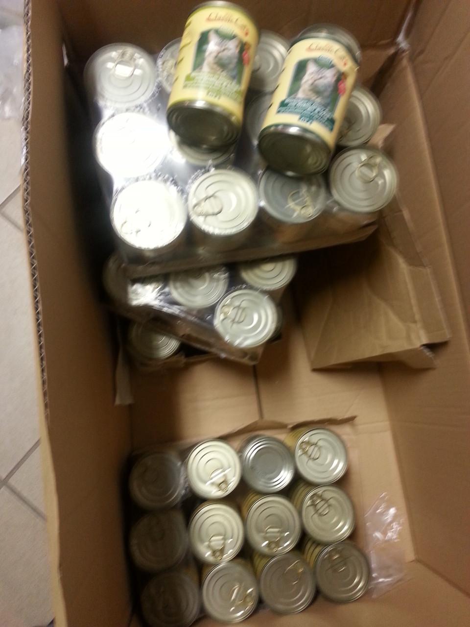 Spenden die angekommen sind im März 2014