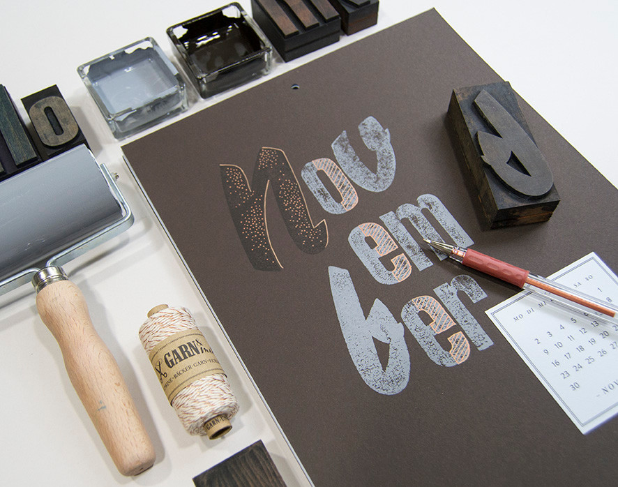 Workshop  – DIY Kalender 2015 –