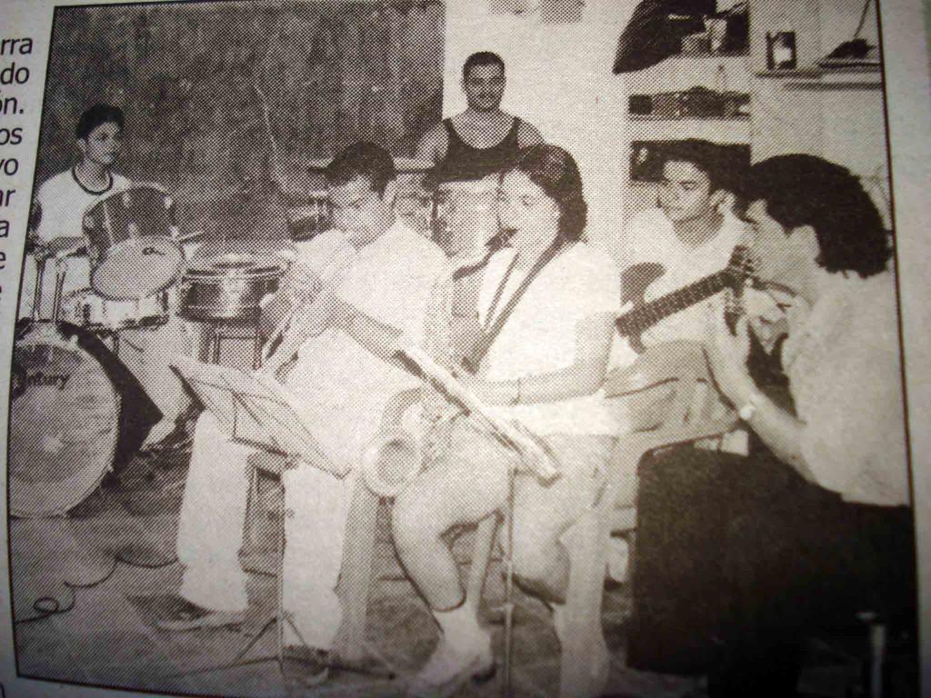 Los alumnos de Germán  villa, escuela de música