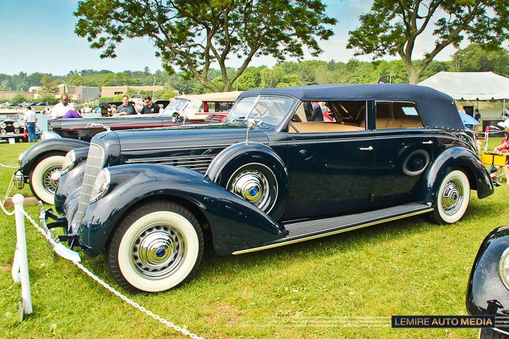 Lincoln Model K LeBaron Convertible Four-Door 1938