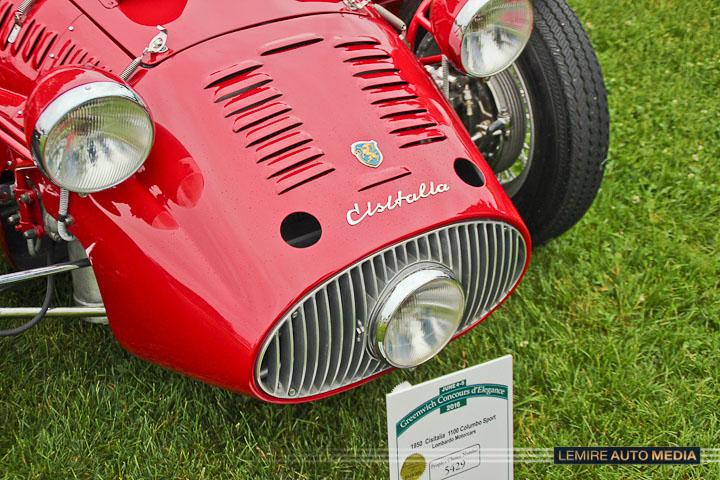 Cisitalia 1100 Colombo Sport 1950