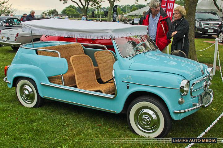 FIAT 600D JOLLY 1960
