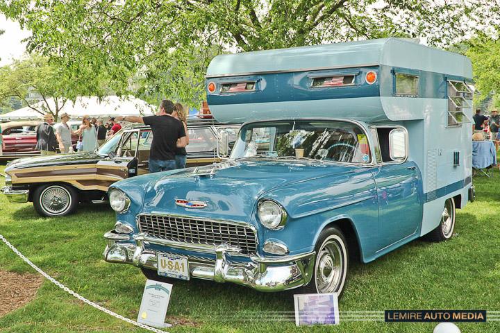 Chevrolet Belair Camper 1955