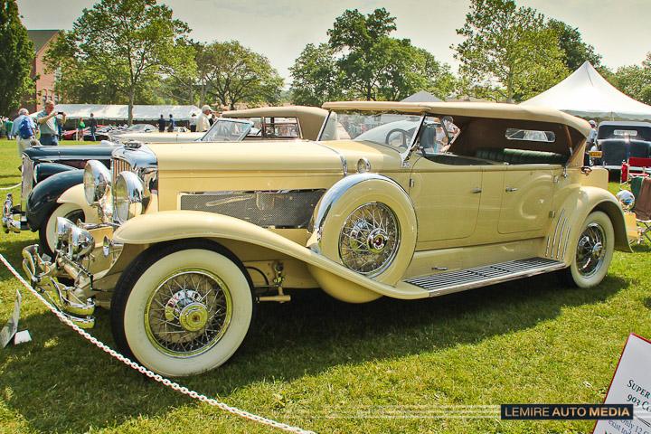 Duesenberg Model J Tourster Convertible 1931