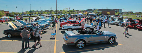 50 YEARS OF THE MUSTANG AT BOISBRIAND