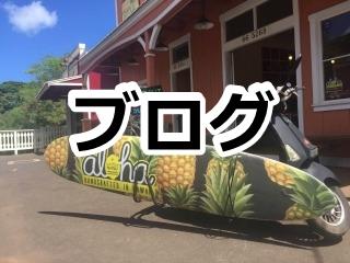 ハワイおくるまドットコムのブログページへのリンク ノースショアのワウワウレモネード