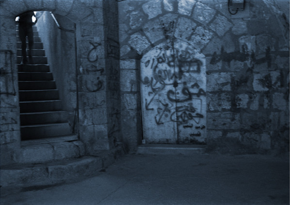 地蔵建立—エルサレム(地下)[イスラエル] Jizoing: Jerusalem [Israel], 1994