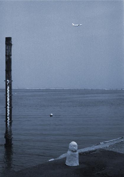 地蔵建立—羽田(多摩川編)[東京] Jizoing: Haneda (Tama River Series) [Tokyo], 1988