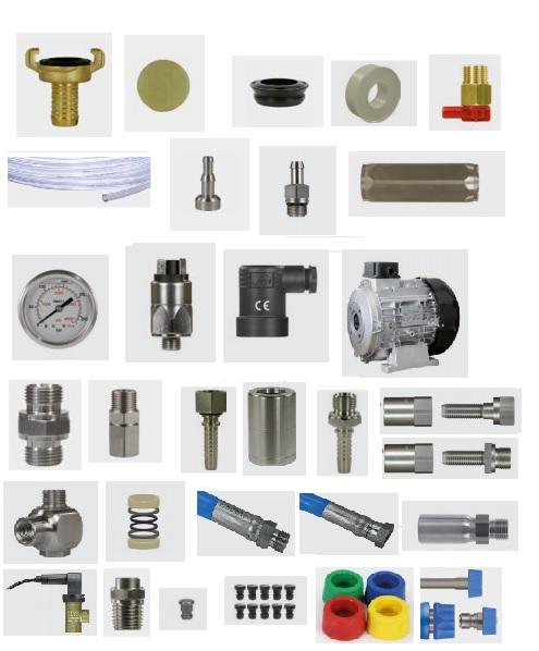 Pièces détachées pour équipements moyenne pression.