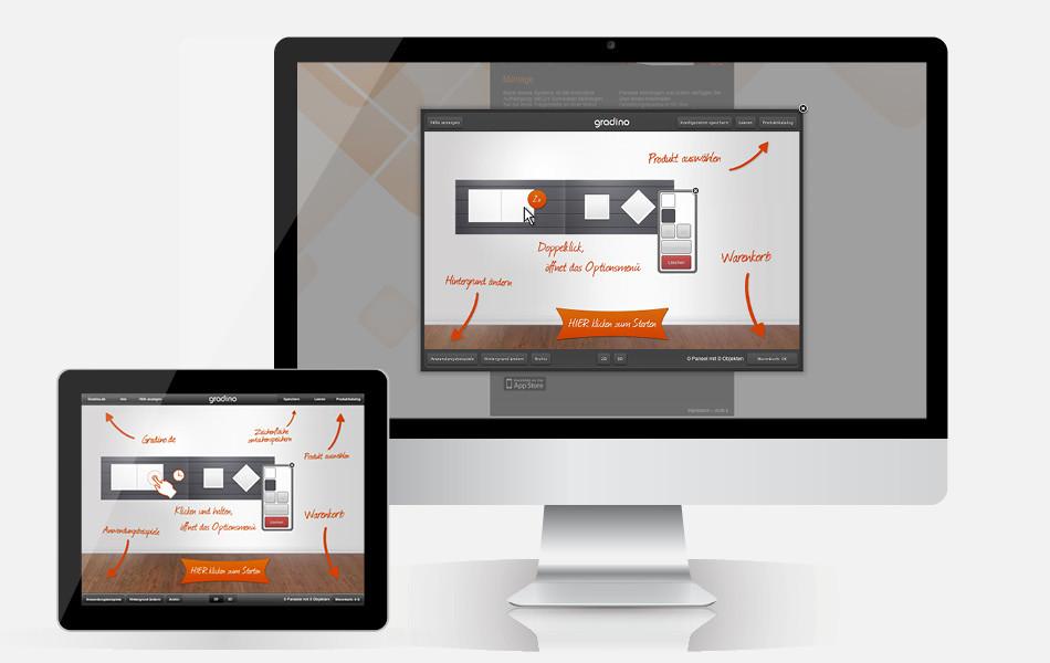 Online-Konfigurator App-Konfigurator