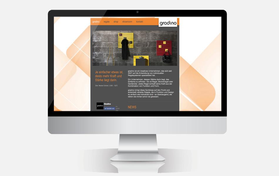 Website mit Webshop