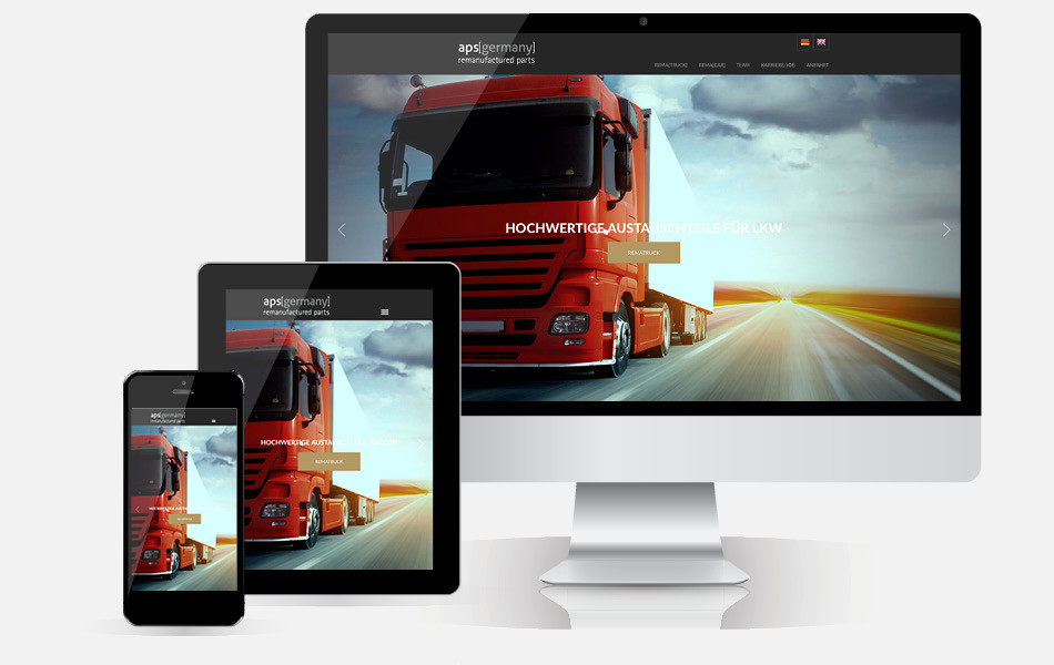 Responsive Website mit CMS