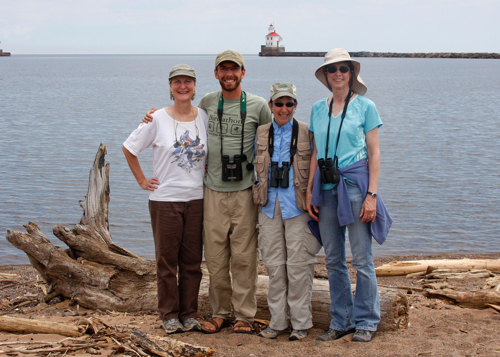 A fun birding tour along Wisconsin Point (Superior, WI)