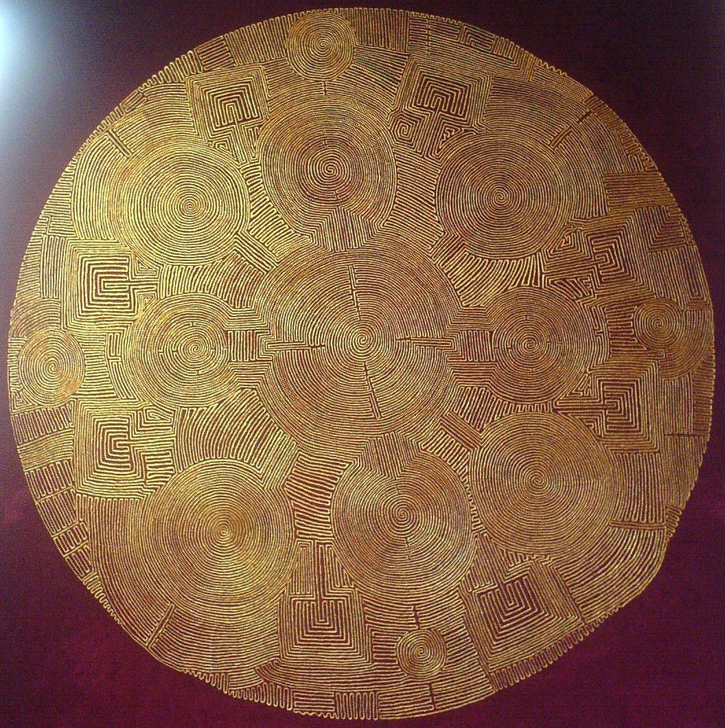 Gold, Bölsche Straße, Berlin, Matthias Eule, Labyrinth, Lebenslabyrinth